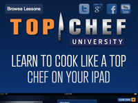 Top Chef University Responsive Layout