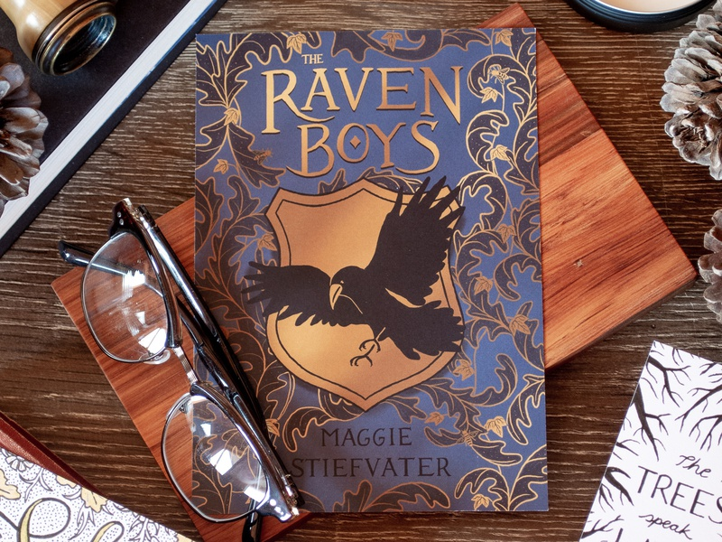 The Raven Boys Book Cover apple pencil ipad pro procreate surface design pattern design illustration book cover book design
