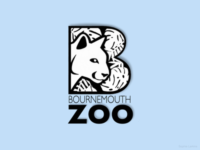 Bournemouth Zoo Logo - Puma Head Icon