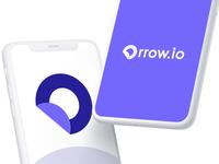"""orrow.io"" letter O + fintech Logo orrow o logo letter logo tech logo fintech logo fintech app logotype logomark brand identity web flat lettering ux ui typography icon minimal app logo branding"