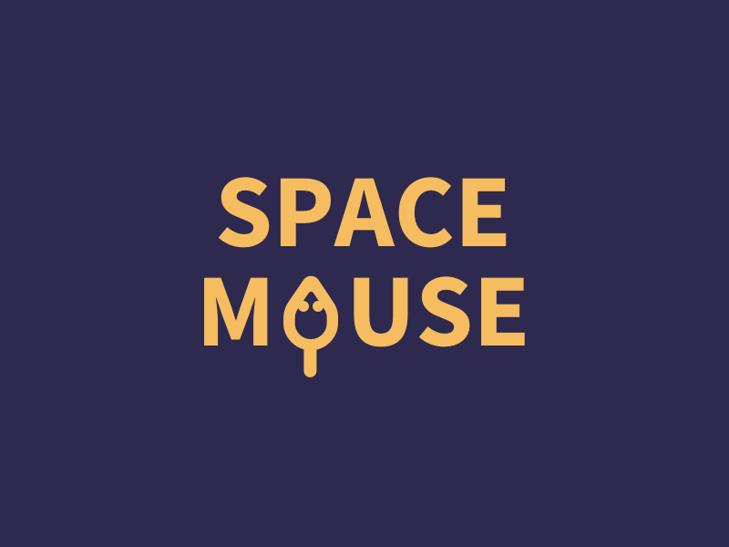#Typehue Brandom Week 1: SpaceMouse vector space font type logo mouse brand