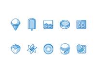 Ice cream icons