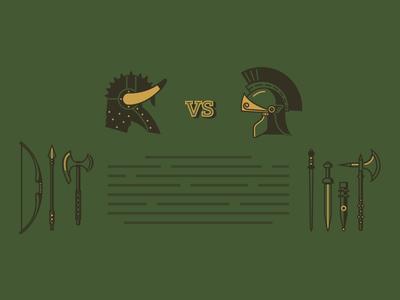 Barbarians VS Romans