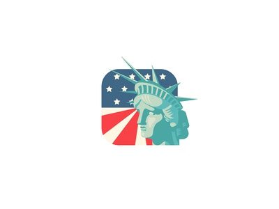 Lady Liberty statue of liberty ny statue flag liberty usa