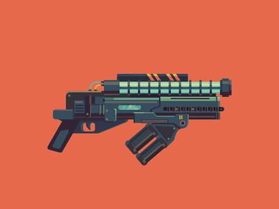 Flamethrower Laser Gun flamethrower flame laser armory gun