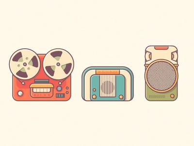 Retro Music vol.2 electronics recorder audio vintage music retro