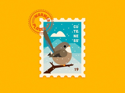 She Needs Vacation illustration character 2d flat anano cuteness fat stamp vacation summer winter cute