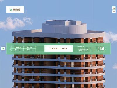 Tbilisi Gardens - Website sotd anano homepage landing awwwards web tbilisi leavingstone