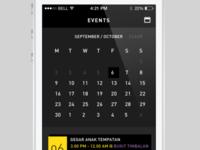 JBAF Calendar