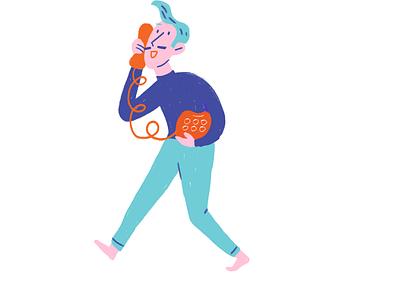 long phone call