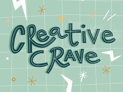 Creative Crave Newsletter procreate creative calligraphy lettering creative crave newsletter