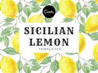 Sicilian Lemon - Templates