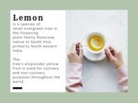Sicilian Lemon - Template