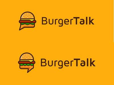 Burger Talk Logo