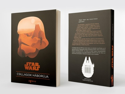Star Wars - book cover design concept minimal simple graphic design book cover