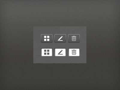 UI Buttons ui buttons icons firstenberger