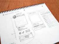 Wireframe sketch sonicseeds