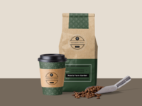 Coffee Bean Package / Coffee Cup Design