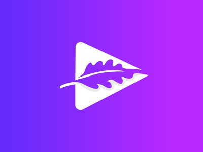 Oak Media Logo Exploration blue purple toptenlogodesigner bestlogodesigner brandidentitydesign branding agencylogo techlogo negetivespcaelogo modernlogo gradientlogo leaflogo startupcompanylogo applogo medialogo oaktreelogo oaklogo oak