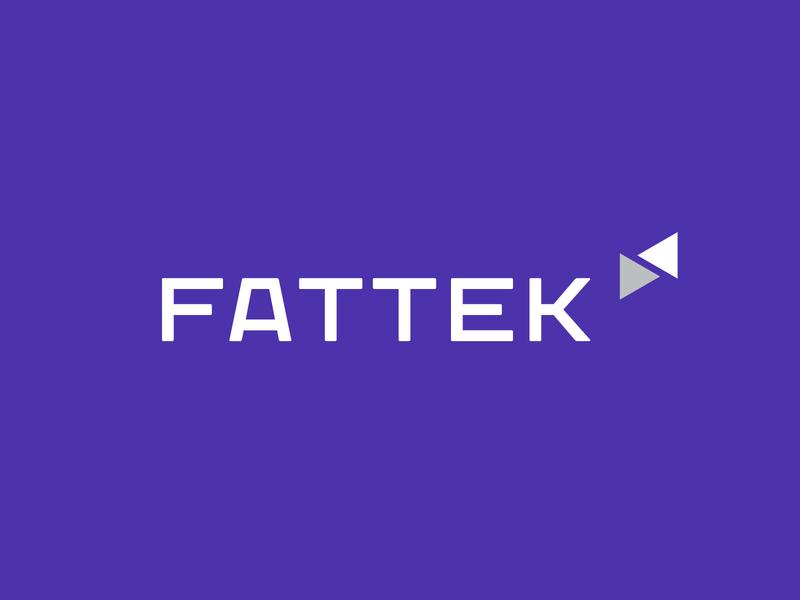 Fattek Logo f letter logo branding designer brand identity branding saas app logo typographic logo flogo purple blue techonology logo modern logo app logo arrow logo tech logo tech logo designer top logo designer best logo designer 2020 logodesign logo