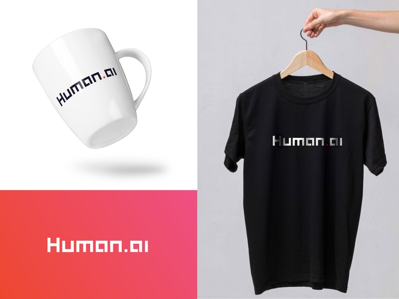 Human ai brand application 3 modern logo robotic logo startup company logo techonology logo app logo icon logotype h logo branding agency t shirt design identitydesign brand identity design branding tech logo artificial intelligence logo neural network logo neural network artificial intelligence