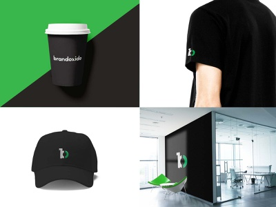 Brandoxide Brand Elements branding agency web development agency bradning green black modern branding cap design t shirt design coffe cup design stationery design folder design letterhead design envelope design brand identity design branding design agency branding design agency