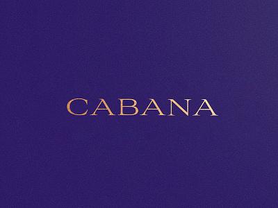 Cabana - Resort and Spa hotel logo design ideas hotel logo inspiration hotel logo list resort branding hotel branding royal logo purple spa logo resort logo hotel logo logodesigner logotype typographic logo luxury logo logodesign logo