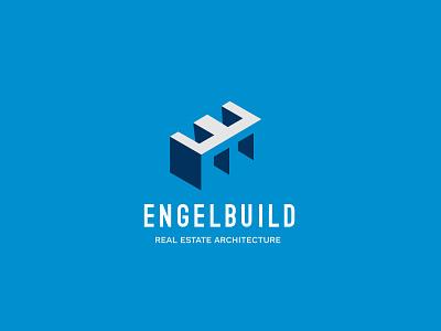 Engel Build Logo real estate logo e logo icon logotype branding branding agency brand identity logodesign modern logo logo construction company construction logo architechtural firm logo architechtural logo builders logo