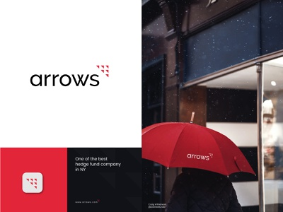 Arrows Logo and Branding investment company logo logo inspiration 2021 modern logos app logo brand identity design branding logodesign arrow logo strong logo modern logo abstract logo bank logo red black appraisal company logo financial company logo fintech company logo fintech logo hedge fund arrow