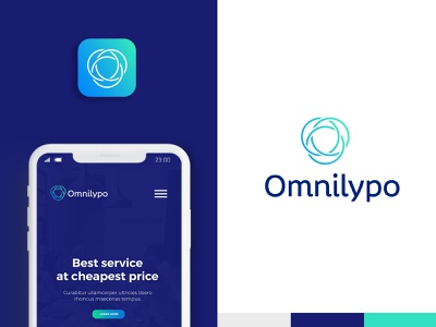 Omnilypo Logo and Branding icon logo and app design service logo and website logo design service logo design agency logo design inspiration logodesign website logo artificial intelligence ai logo data clustering logo fintech logo analytic software logo saas product logo clean logo app logo modern logo tech logo o logo omni