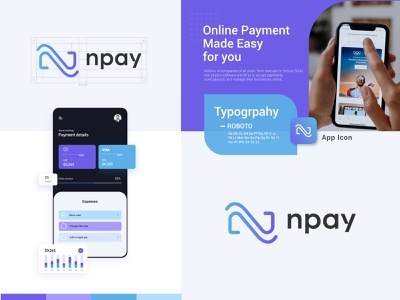 NPAY Logo and Brand Identity payment gateway logo brand identity design branding branding agency financial tech company logo pay logo npay app logo logo mark gradient logo techonology logo techonology branding tech logo modern logo purple fintech logo fintech company branding fintech company logo payment method logo payment system logo