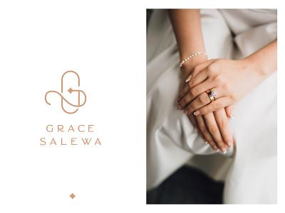 Grace Salewa - Jewelry Logo & Branding jewelry brand luxury branding s logo minimal logo luxury logo logodesign jewels jewelry logo gs logo g logo design