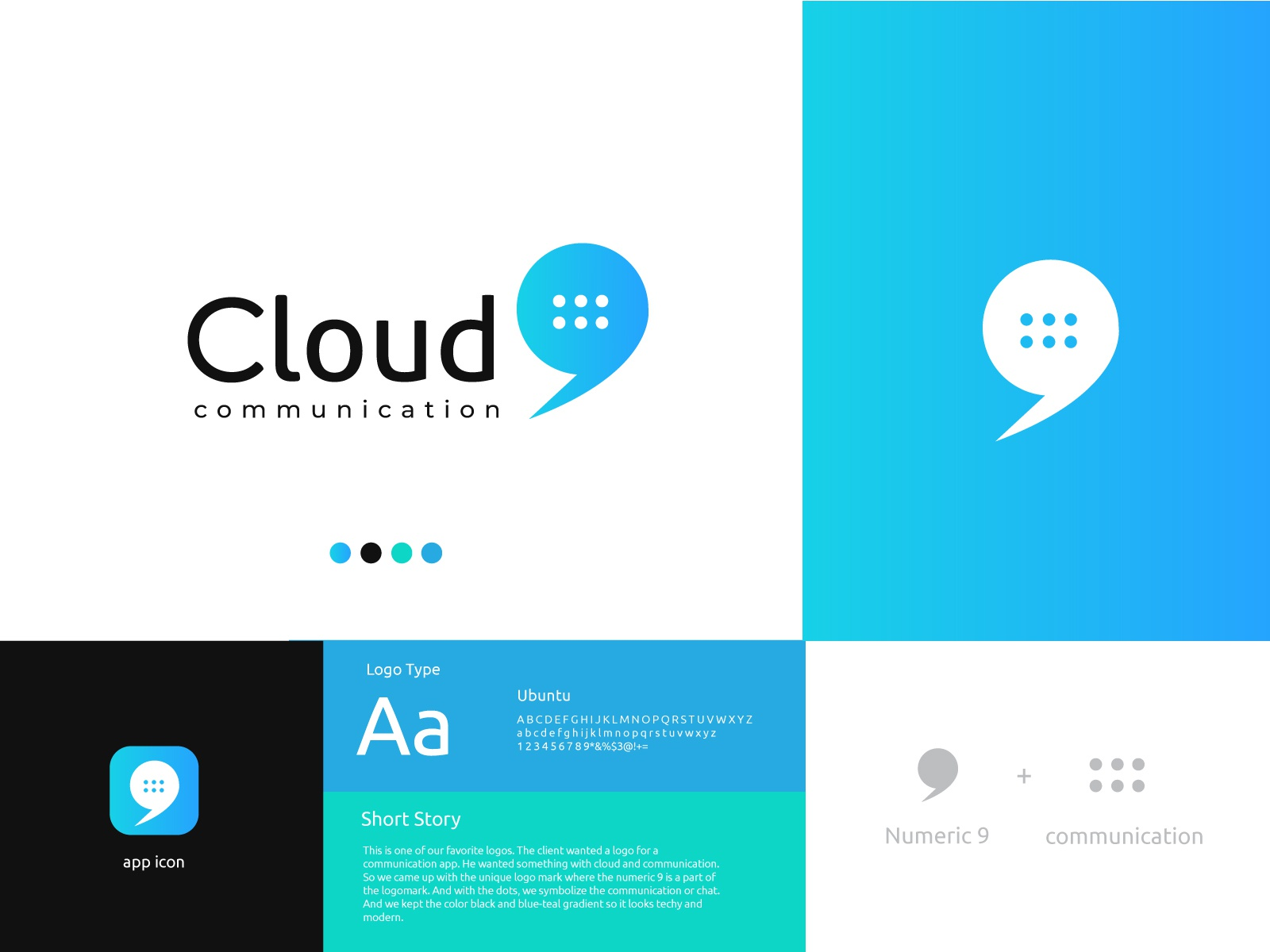 Cloud 9 Logo By Jahid Hasan On Dribbble
