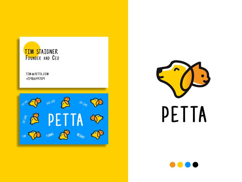 Petta- Logo Exploration icon playful logo paetcare logo cat logo dog logo pet logo best freelance logo designer freelance logo designer best logo designers on dribbble top logo designers on dribbble top logo designs logodesign illustration branding agency modern logo logotype logo design brand identity logo branding