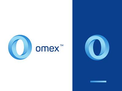Omex Digital Logo data gradient logo design logotype o logo trendylogo techlogo techonology ui app icon icon brandidentity branding modernlogo 2020logos bestlogodesigner toplogodesigner logodesigner logodesign logo
