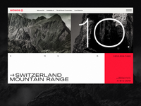 ⊗⊕⊗ Switzerland Mountain Range ⊗⊕⊗ Concept