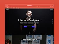 Website re-design - victorlava.com