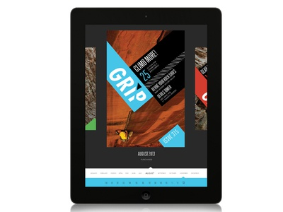 Grip iPad Magazine App