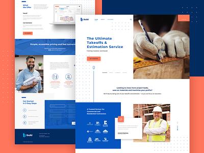 1build UI ui design website framing brand identity branding blueprint construction builders build 1 one webdesign web design ux ui