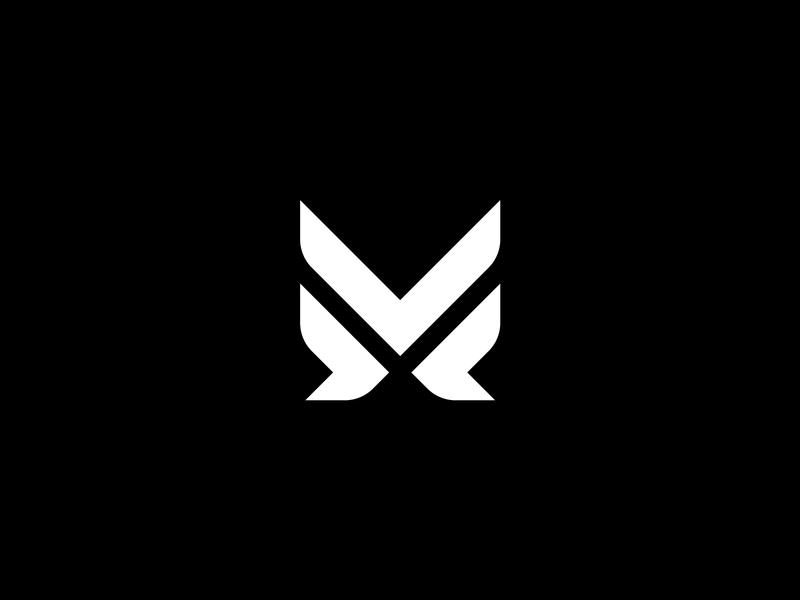 MV mv logo typography logo minimalistic logo typographic logo logodesigner geometric branding brand graphic logotype lettermark v m emblem icon symbol monochrome monogram logo mv