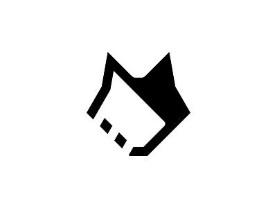 Wolfy Design Charm negativespace minimal wolfydesign wolfy logo design stickermule playoff contest vector branding icon graphic design wolf logo wolf logo