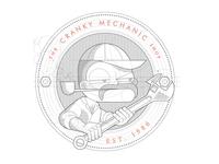 The Cranky Mechanic Shop b/w