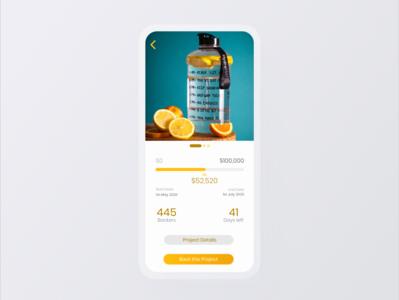 Daily UI 032 (Crowdfunding Campaign) crowdfunding campaign ux ui dailyui