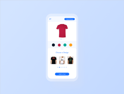 Daily UI (Customize Product) t-shirt shirt customize product ux ui dailyui