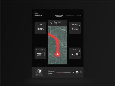 Daily UI 034 (Car Interface) car ux ui dailyui