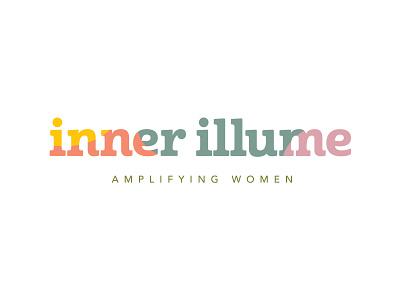 Inner Illume Logo wordmark minimal branding vector logo caribou creative laura prpich