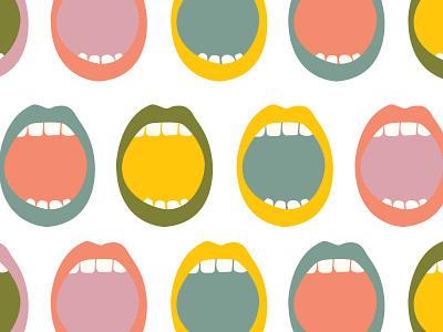 Inner Illume Branding mouth handdrawn minimal illustration branding vector logo caribou creative laura prpich