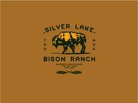 Silver Lake Bison Logo