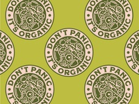 Don't Panic, It's Organic Badge