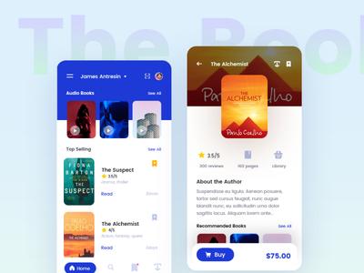 Bookshelf - concept of books application